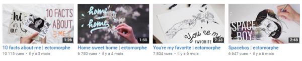 top 4, youtubeurs