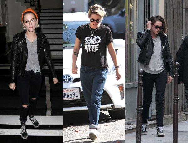 Kristen Stewart look.