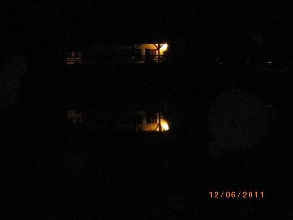 .le chalet de nuit