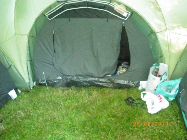 notre tente vu de l interieur
