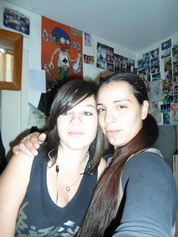 moi et une amie que je quif grave