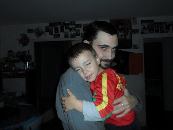 mon fils et mon homme