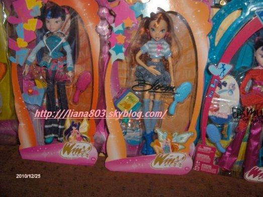 mes nouvelle poupées winx !!