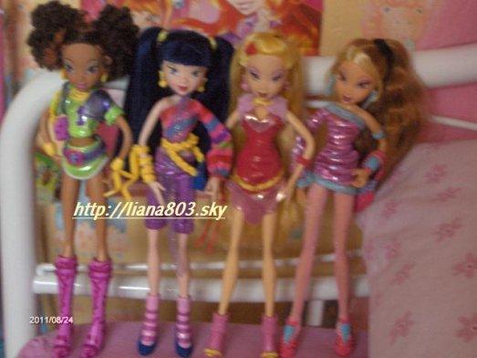 Les images de mes poupées !!