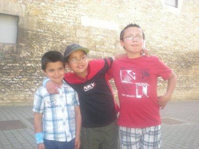 mes trois garçons