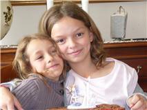 mes 2 petite niece que j'adore