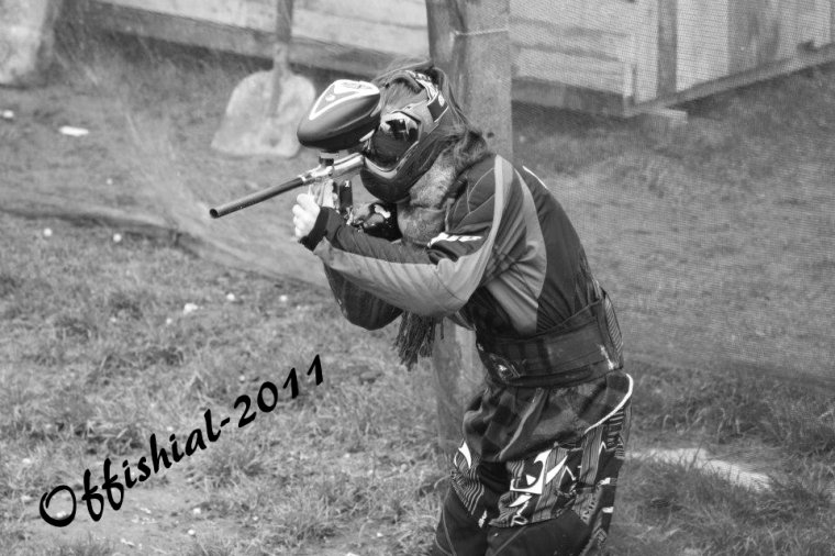 Le speed paintball , c'est ma drogue ♥