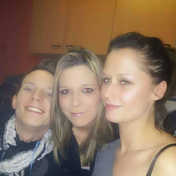 moi et ma soeur et mon frere