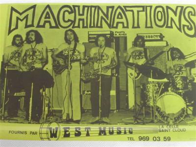 Les MACHINATIONS 1972