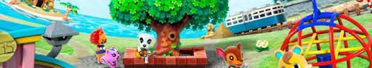 Les notes d'Animal crossing 3DS.