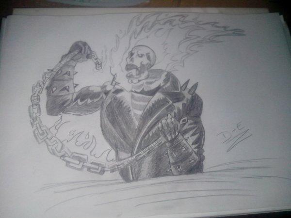 Mon dessin ghost rider blog de ael624 - Dessin de ghost rider ...