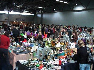Exposition de Mulhouse 2009 stands des vendeurs