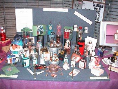 Exposition de Pont de Roide 2009  Composition J.P. Gaultier