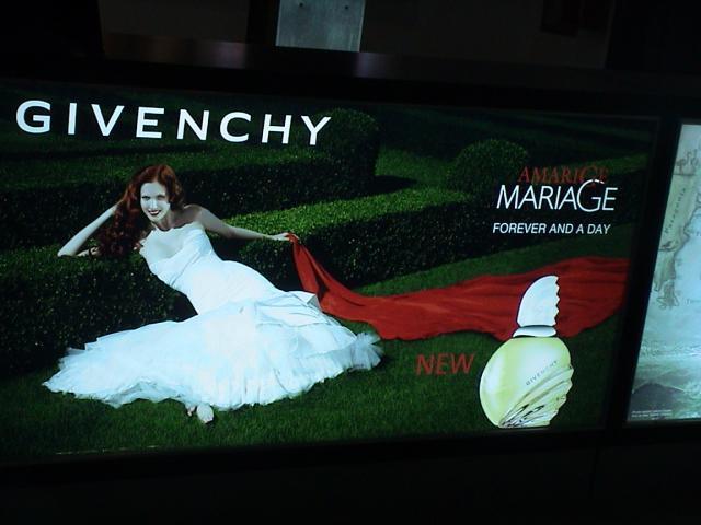 Publicité de parfum