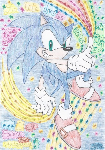 Dessins divers Sonic