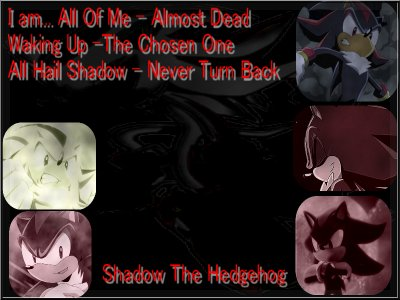 Shadow, le plus dark des persos Sonic