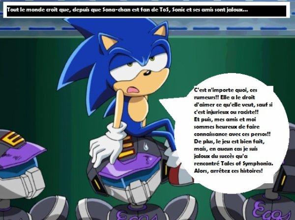 La vérité sur Sonic à propos de ToS