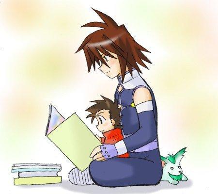 Moment entre un fils et son père