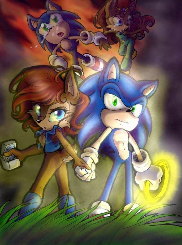 Sonic et Sally