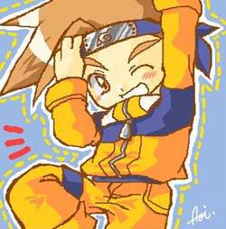 Tails et Lloyd jouent les Naruto!