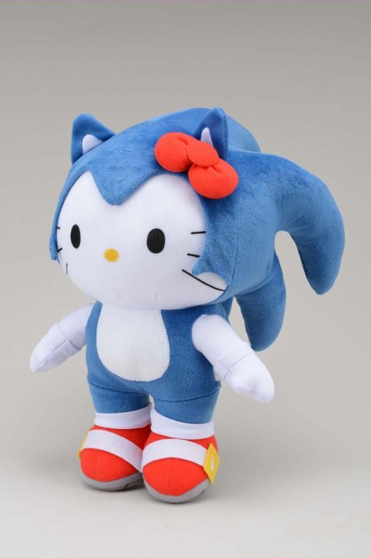 Le Hello Kitty version Sonic