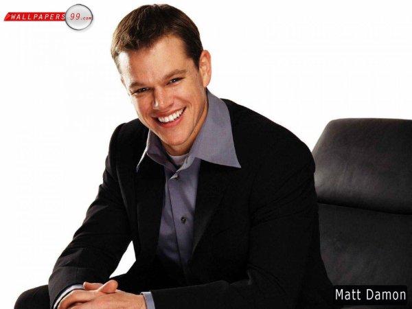 Matt Damon ♥