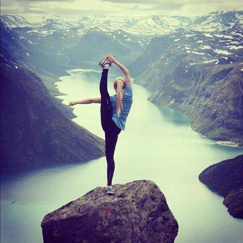 La gymnastique, plus qu'une passion. ♥