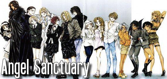 Anime / Manga Angel Sanctuary