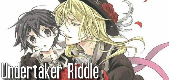 Manga Undertaker Riddle