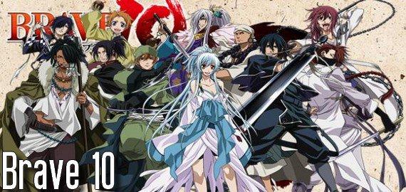 Anime / Manga Brave 10