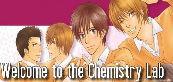 Manga Welcome to the Chemistry Lab