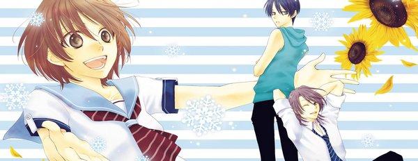 Manga Rokka Melt - Mes adorables hommes des neige