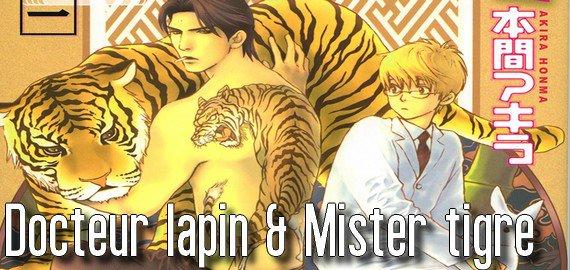 Manga Docteur lapin & Mister tigre