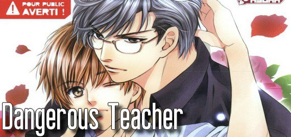 Manga Dangerous Teacher