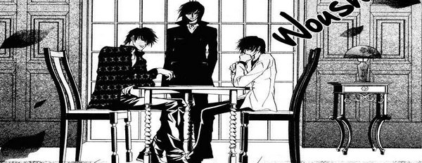 Manga Le Baiser du Sang