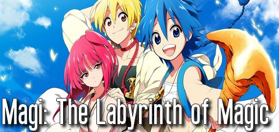 Anime / Manga Magi: The Labyrinth of Magic
