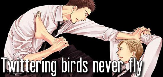 Manga Twittering birds never fly