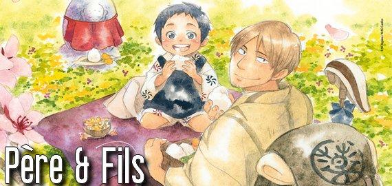 Manga Père & Fils