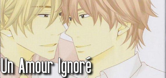 Manga Un amour ignoré