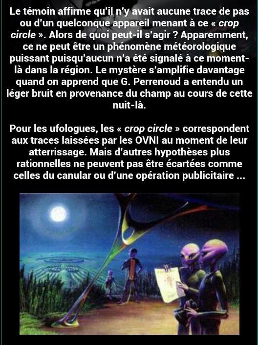 Un crop circle dans l'Ain!!! (Chez moi)