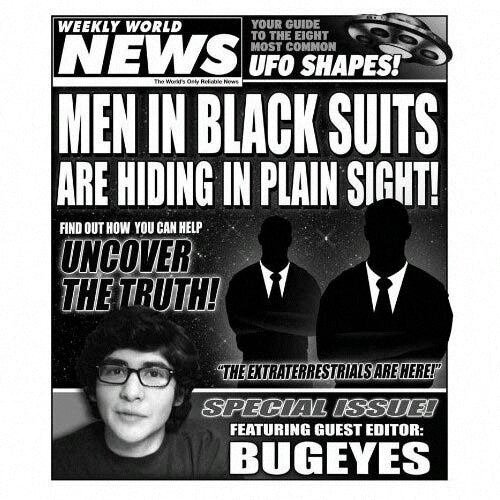 """Un """"vrai"""" Men in black photographié ?"""