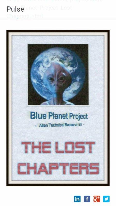 Blue Planet Project - Alien Technical Research 25