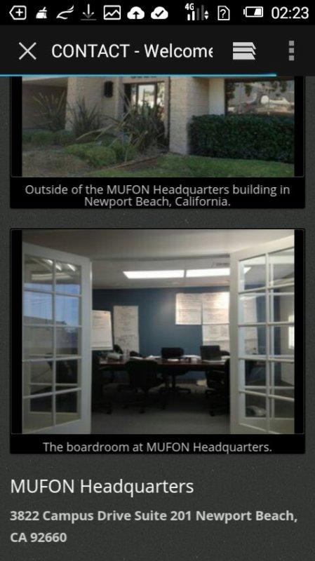 Mufon Association (en anglais)
