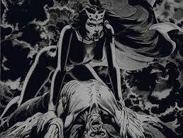 Lilith, première épouse d'Adam, démone de la luxure voleuse d'enfants, et ancienne déesse-mère   Le Mouvement Matricien