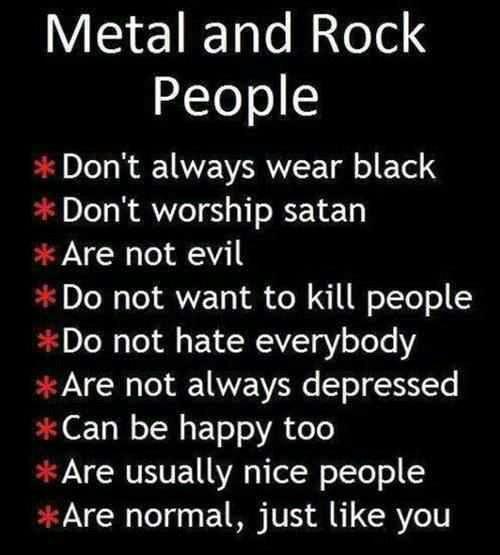 Humour et pics Rock