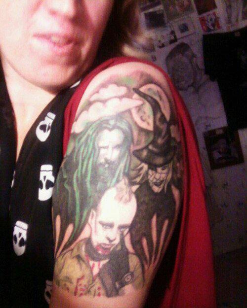 Zombie World Tattoos