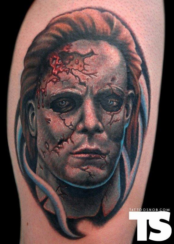 Halloween & Michael Myers Tattoos
