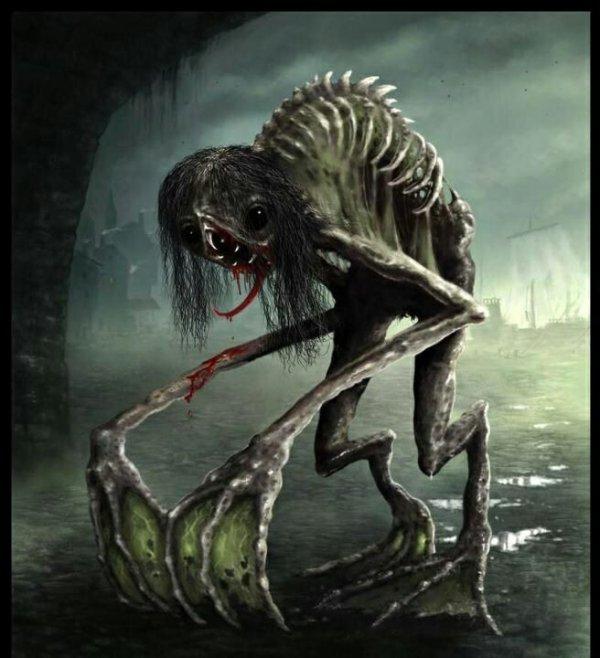 Le Rake,cette créature dérangeante. .