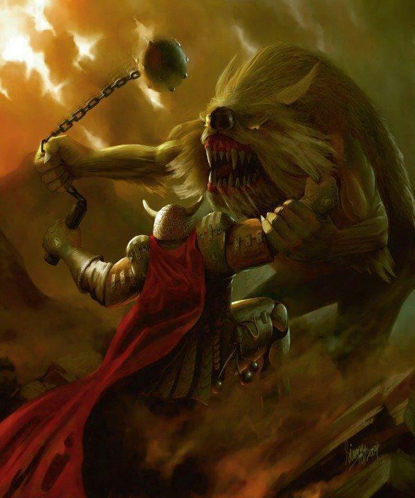 Mythologie nordique : Fenrir