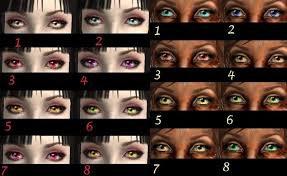 L'Antre d'Akasha :Eyes Color